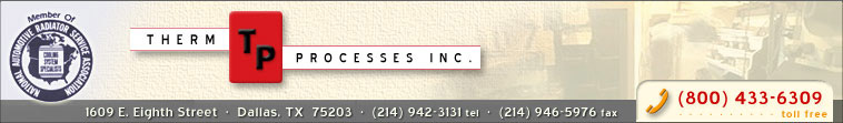 Therm Processes Inc. - (800) 433-6309