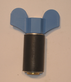 "7/8"" Expansion Plug - Brass - Closed Stem"