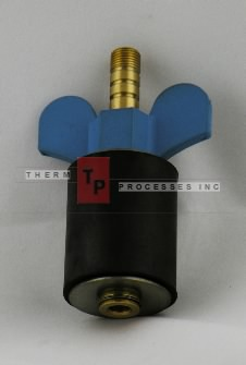 "1 1/2"" Expansion Plug - Brass - Open Stem"
