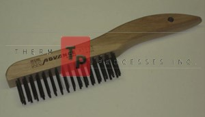Shoe Handle Wire Brush - Stainless Steel - 1 ea.