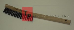 Long Handle Wire Brush - Carbon Steel - 1 ea.