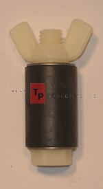 "1 1/8"" Expansion Plug - Nylon - Closed Stem"