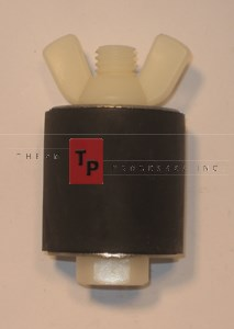 "1 3/4"" Expansion Plug - Nylon - Closed Stem"