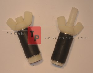 "7/8"" Expansion Plug - Nylon - Set of open & closed plugs"