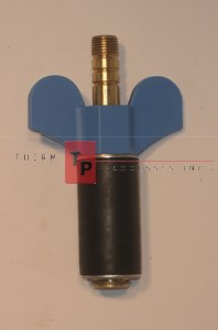 "7/8"" Expansion Plug - Brass - Open Stem"