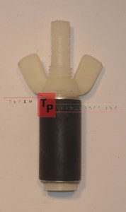 "7/8"" Expansion Plug - Nylon - Open Stem"