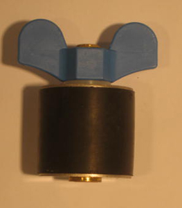 "2 1/8"" Expansion Plug - Brass - Closed Stem"