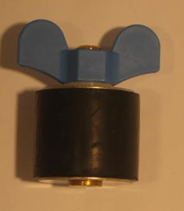 "2 1/4"" Expansion Plug - Brass - Closed Stem"