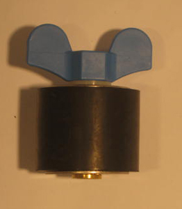 "2 3/8"" Expansion Plug - Brass - Closed Stem"