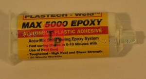 MAX 5000 Yellow Label Epoxy - 2 oz. Cartridge