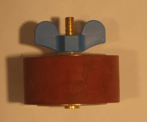 "4"" Expansion Plug - Brass - Open Stem"
