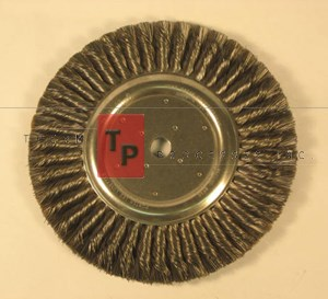 "Wire Wheel Brush - 6"" dia."