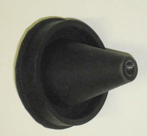 Therm-O-Matic Flushgun Parts - Deluxe Rubber Cone