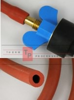 Red Neoprene Test Hose - per foot