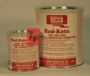Damon Red-Kote - Inside Coating - 1 qt. Can