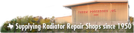 Supplying Radiator Repair Shops since 1950